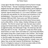 Peter Hoare Radio Article