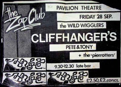 1984(TBC) Zap Club poster