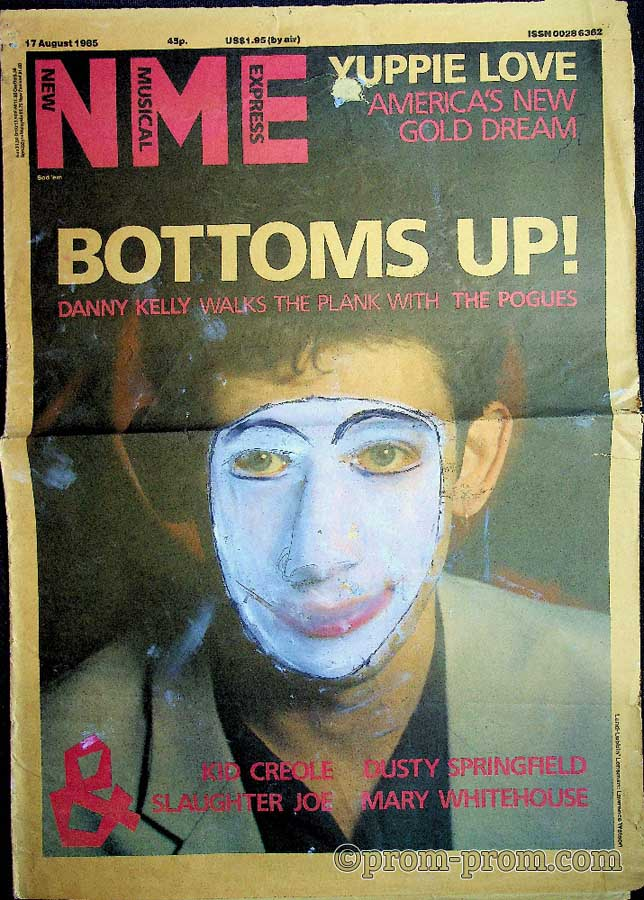 1985-08-17 NME front cover
