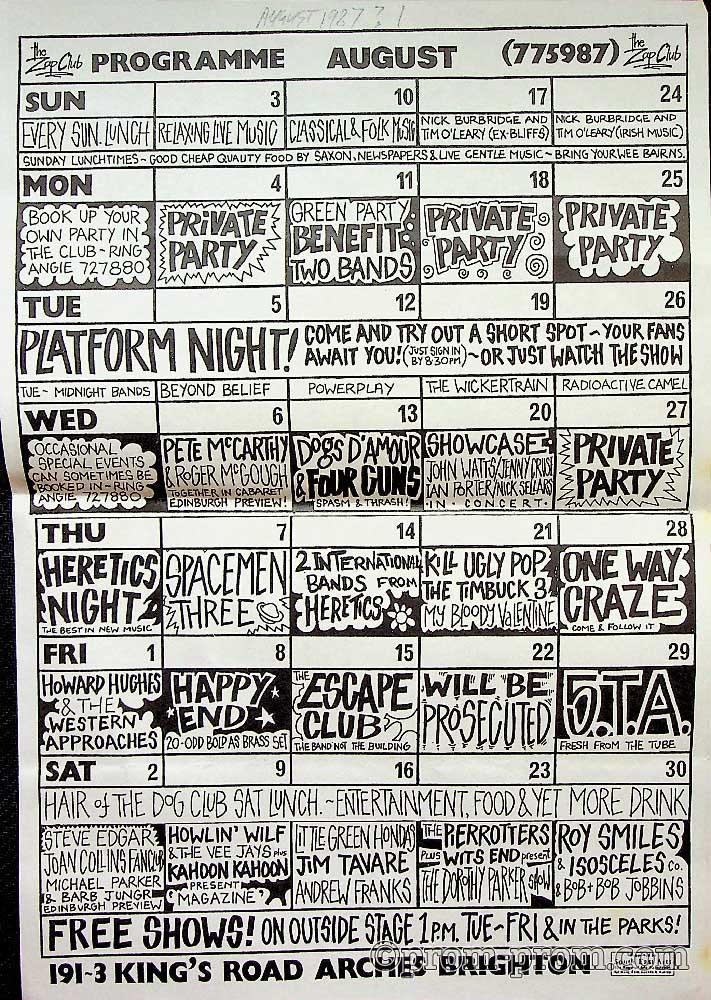 1985-08 (TBC) Zap programme 1