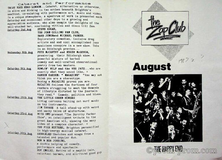 1985-09-09 Drusilla's Entertains Drusilla's Zoo 1
