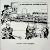 1986-09-13 'Down by the Riverside' Christian Aid gig on South Bank 1a