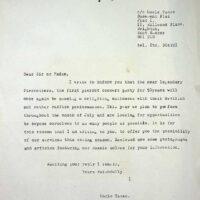 1986 TBC press release