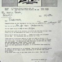 1986 Zap Club