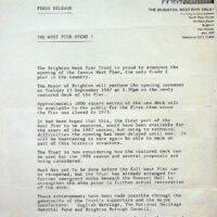 1987-09-15-West-Pier-opening-press-release
