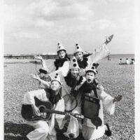1987-Pierrotters-promo-photo-on-the-beach-2