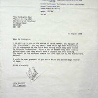 1988-08-25 Letter of negotiation for fee from Equity