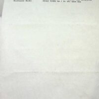 1990-02-23 Letter re rehearsals 1a