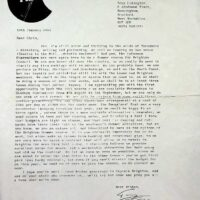 1991-01-10 Letter to Brighton Council
