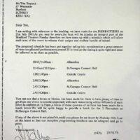 1991-06-07 Bradford Theatres Fun Day contract