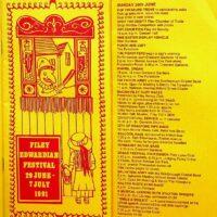 1991-07 Filey Edwardian Festival programme 1