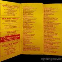 1991-07 Filey Edwardian Festival programme 1a