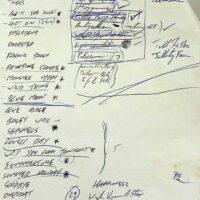 1991 (TBC) set list
