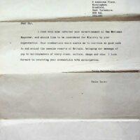 1992-01-06 Letter to 1st Church of Fresno, California 01