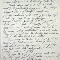 1992-01-17 Letter to Class U3l Bradford 1a