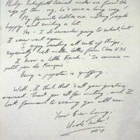 1992-01-17 Letter to Class U3l Bradford 1b