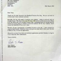 1992-03-20 St George's Hall Bradford contract 1