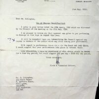 1992-04-21 Letter from Swanage Town Council