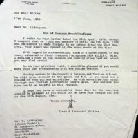 1992-06-217 Letter from Swanage Town Council
