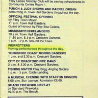 1992-06 Filey Festival 1a