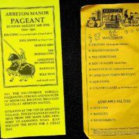1992-08-16 Arreton Manor Pageant programme