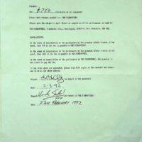 1992 Bradford Festival contract 1a