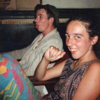 1992 Krakow Poland Karen Michel & Uncle!