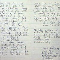 1992 Letter from Class U3l Bradford 1a