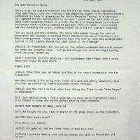 1993-06-02 Draft script from Macko 1