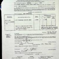 1993-06-07 Leeds City Varieties Good Old Days contract