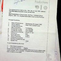 1993-07-16 Camden Lock contract
