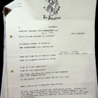 1993-07 Southport Pier festival contract 1