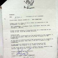 1993-07 Southport Pier festival contract 1a
