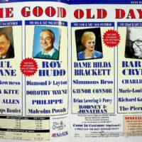 1993-10 Leeds City Varieties Good Old Days programme 1a