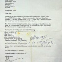1994-03-27 Pier Productions recording of 'The End of the Pier Show' for Bill Pertwee 1