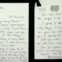 1994-06-30 Letter from Geoff Mellor re Stage article