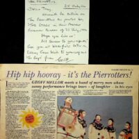 1994-07-21 Article in The Stage and letter from Geoff Mellor 1