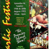 1995-08 Garlic Festival, Isle of Wight 1