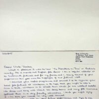 1995-10-22 Fanmail from Radio 4 Kaleidoscope show