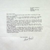 1995-11-03 Letter from Andie Caine Junior