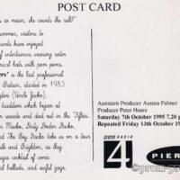 1995 Publicity Pier productions The Pierrotters on Tour (1)