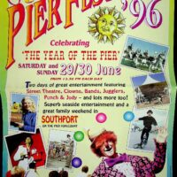 1996-06-29 Southport Pier Festival poster