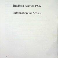 1996-06 Bradford Festival information 1