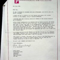 1996-07-09 Letter about Phil Kelsall Gala Concert at Blackpool Tower Ballroom 1