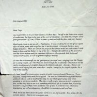 1996-08-25 Letter from Peter Dunn, Lindford, Packo