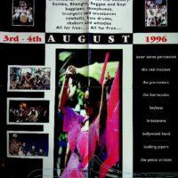 1996-08 Morecambe Street Bands Festival leaflet 1a