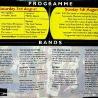 1996-08 Morecambe Street Bands Festival leaflet 1b