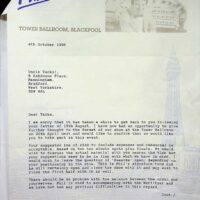 1996-10-04 Letter from Phil Kelsall about Gala Concert at Blackpool Tower Ballroom 1