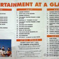 1996 De La Warre Pavilion, Bexhill Summer brochure 1a