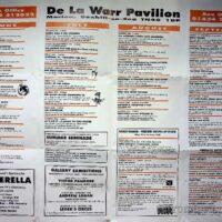 1996 De La Warre Pavilion, Bexhill Summer brochure 1b